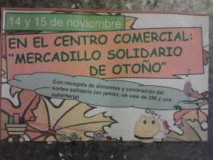 Mercadillo solidario otoño 2014 Perales del Río