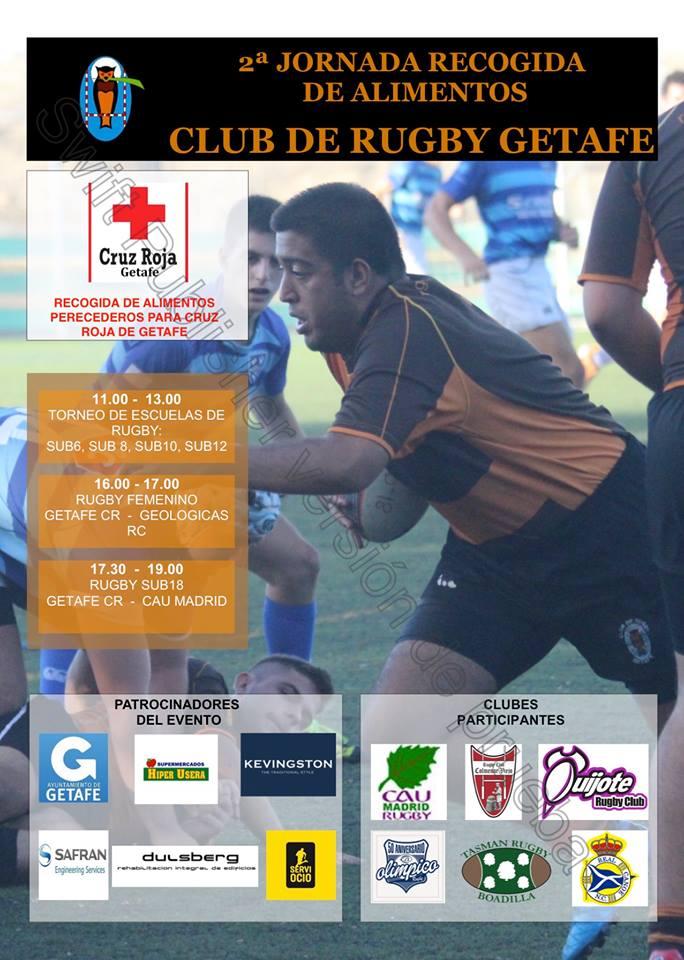 Jornada de Rugby Solidario en Perales del Río